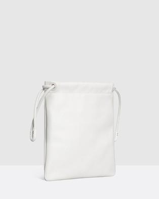 Oroton - Lilia Cross Body - Bags (Pure White) Lilia Cross-Body