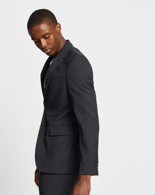 Double Oak Mills - Dom Slim Suit Jacket Suits & Blazers (Charcoal)