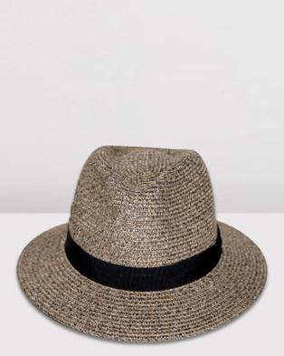 BeforeDark Pana Mate Fedora - Hats (Light Brown)