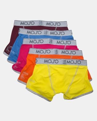 Mojo Mojo Hipster Trunks 5 Pack - Trunks (Multi)