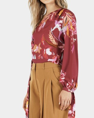 Amelius Cassis Oasis One Shoulder Top - Cropped tops (multi)