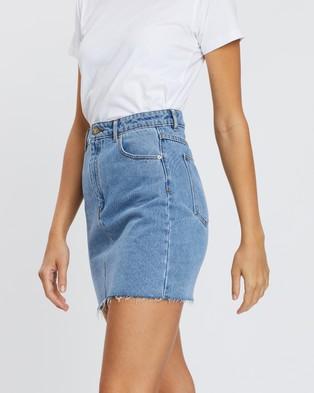 Abrand A Skirt - Denim skirts (LA Blues)