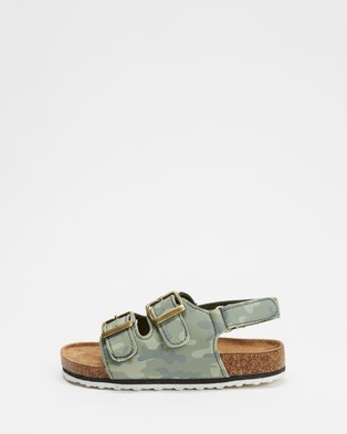 Cotton On Kids - Theo Sandals (Camo)