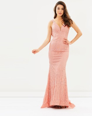 Tinaholy – Marissa – Bridesmaid Dresses (Dusty Pink)