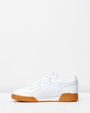 Reebok Workout Plus   Unisex - Sneakers (White, Carbon, Classic Red, Reebok Royal & Gum)
