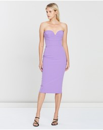 Alex Perry - Corley Stretch Sweetheart Dress