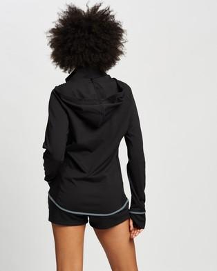 adidas Performance Designed to Move AEROREADY Full Zip Hoodie - Coats & Jackets (Black & White)