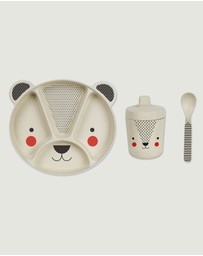 Petit Collage - Baby Bamboo Dinnerware