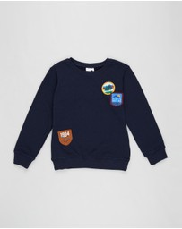 Cotton On Kids - Lachy Crew Jumper - Kids