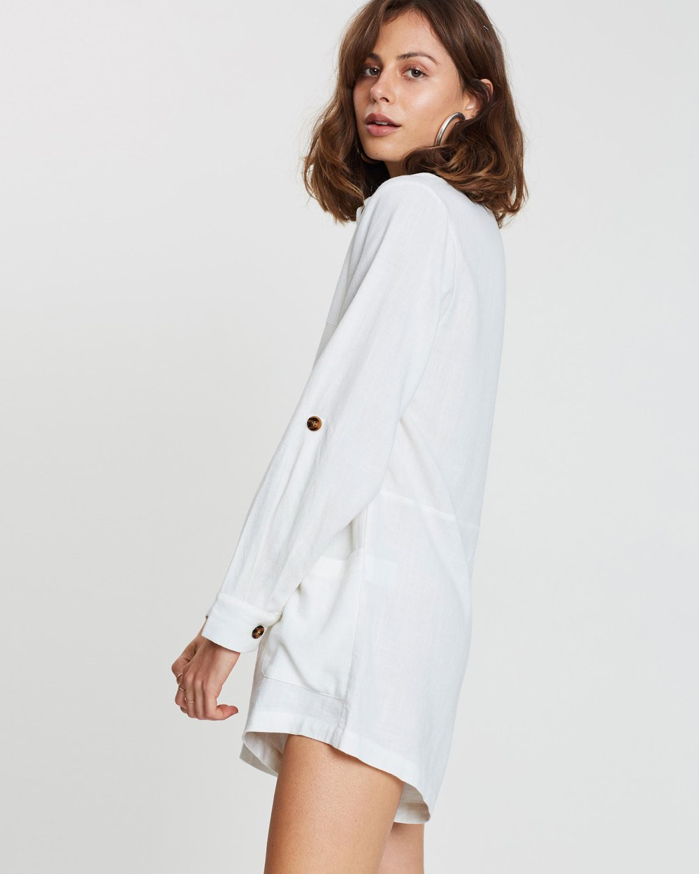872ab4df9d ICONIC EXCLUSIVE - Haylee Relaxed Playsuit by Atmos Here Online ...