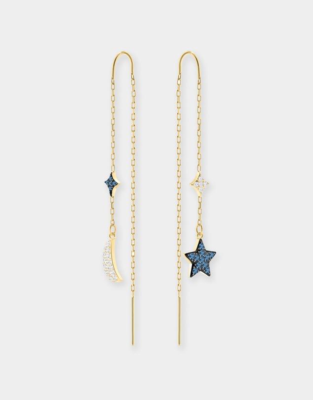 20c1328db Duo Moon Pierced Earrings by Swarovski Online | THE ICONIC | Australia