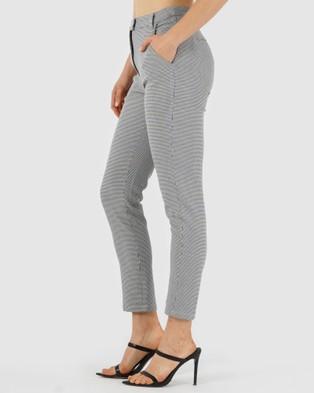 Amelius Checkers Pants - Pants (Black/White)