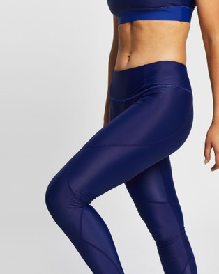 MORE BODY Dame Denim Vastus Leggings - Full Tights (Indigo)