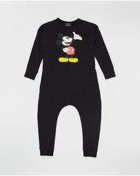 Rock Your Kid - ICONIC EXCLUSIVE - Hello Mickey LS Jumpsuit - Kids