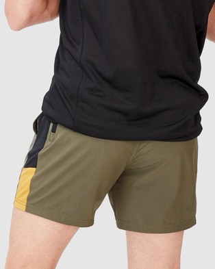 Cotton On Active Tech Shorts - Shorts (Military Blocked)