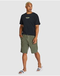 Superdry - Canvas Fatigue Shorts