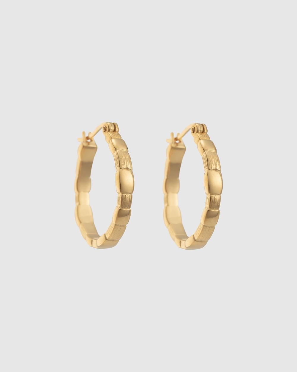 Kirstin Ash Cascade Hoops Jewellery Gold