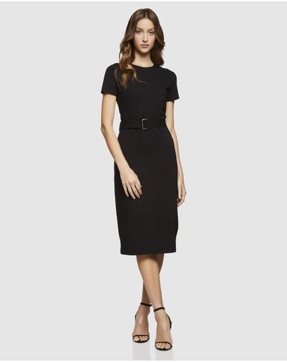 92f5420af65 Black Work Dress | Black Work Dresses Online | Buy Women's Black ...