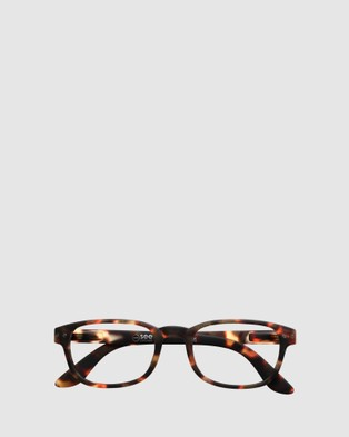 IZIPIZI Reading Collection B - Optical (Brown)