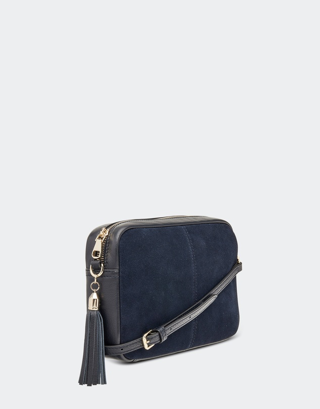 d36c661cb82 Holly Suede Crossbody Bag by SLYFOX Leather Online | THE ICONIC | Australia