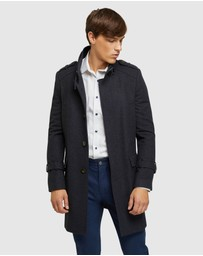 Oxford - Roger Check Overcoat