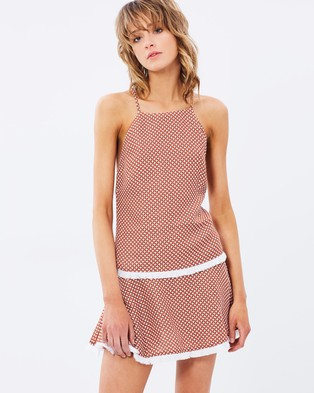 Buy Finders Keepers - Bailey Dress - Dresses (Tan) -  shop Finders Keepers dresses online