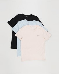 Abercrombie & Fitch - Seasonal Crew Tee 3-Pack