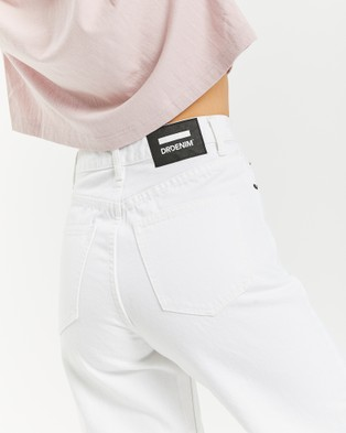 Dr Denim Aiko Jeans - Crop (White)