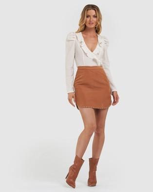 Amelius Zepplin Skirt - Skirts (Rust)