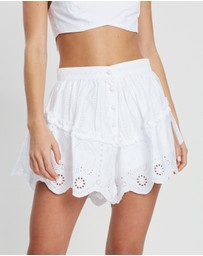 SIR THE LABEL. - Delilah Ruffle Shorts