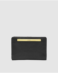 Fossil - Liza Black Wallet