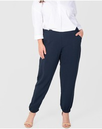 Love Your Wardrobe - Pull On Pants with Cuff