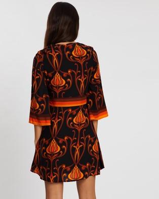 LENNI the label Revolution Dress - Printed Dresses (Deco Black)
