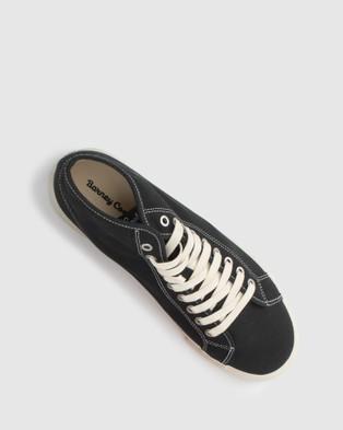 Barney Cools Poolside Sneakers - Lifestyle Sneakers (Black)
