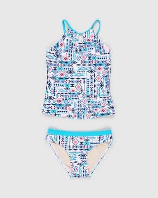 Aqua Blu Kids Inca Tankini Set   Teens - Bikini Set (Inca)