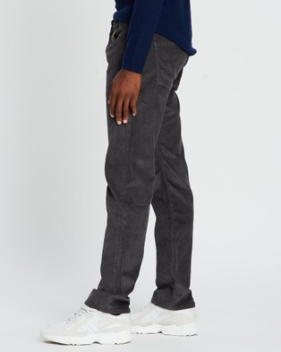 Patagonia Straight Fit Cords   Regular - Pants (Forge Grey)