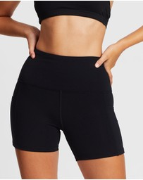 Dharma Bums - Chakra Plain Supplex Shorts