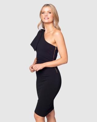 Pilgrim Tally Dress - Bodycon Dresses (Black)
