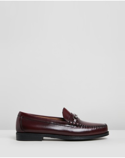 G. H. Bass & Co. - Easy Weejun Lincoln Moc Leather Loafers