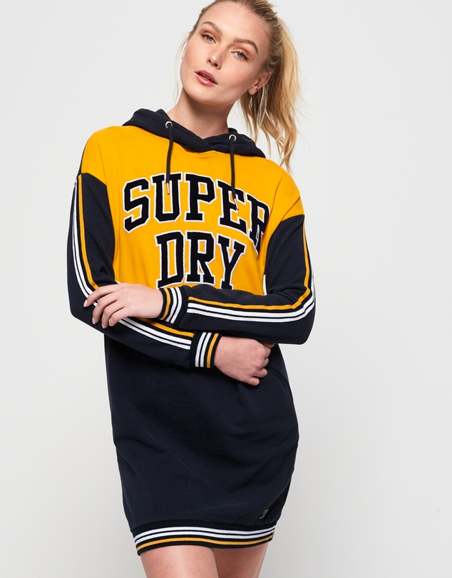 Superdry - College Hooded Sweat Dress