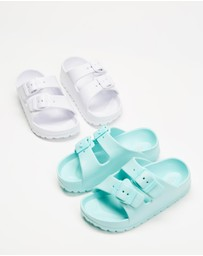 Cotton On Kids - 2-Pack Twin Strap Slides - Kids
