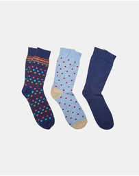Oxford - Craig 3 Pack Socks