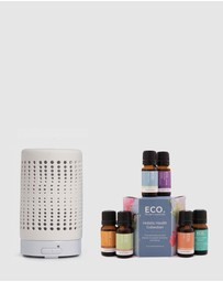 ECO. Modern Essentials - ECO. Tranquil Diffuser & Holistic Health Collection