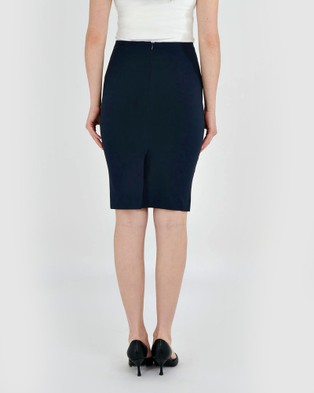 Forcast Rose Pencil Skirt - Pencil skirts (Navy)