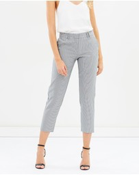 Dorothy Perkins - Text Mini Geo Check Pants