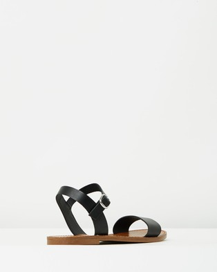 Windsor Smith Bondi - Sandals (Black Leather)
