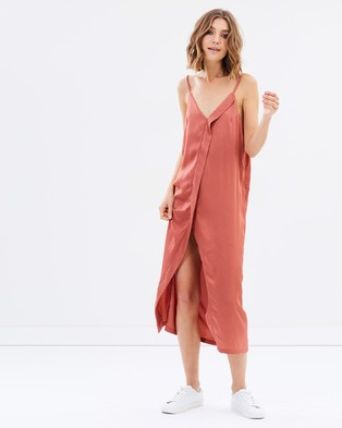 The Fifth Label – Cue The Beats Dress Terracotta