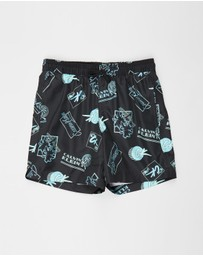 Calvin Klein - CK Wave Swim Shorts - Teens