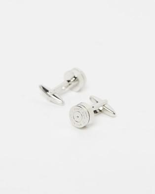 Kavalri Bullet Cufflinks - Ties & Cufflinks (Silver)