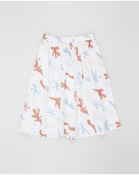 Feather Drum - Basic Maxi Skirt - Kids